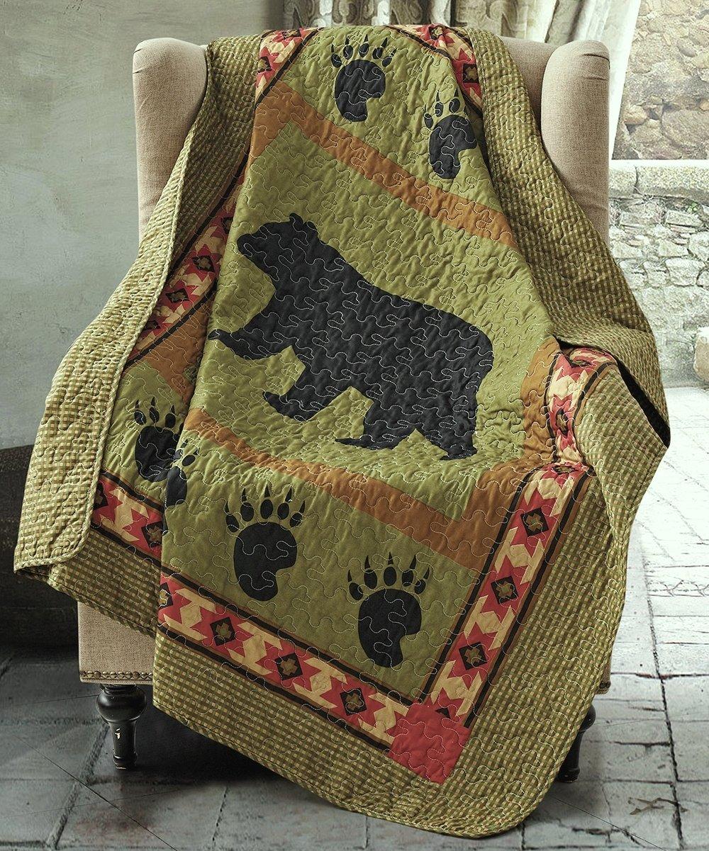 Duke Imports Bear Quilt Throw, 50'' x 60''