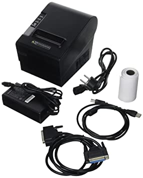 Cablematic - Impresora térmica 80mm POS80250 USB PARALELO ...