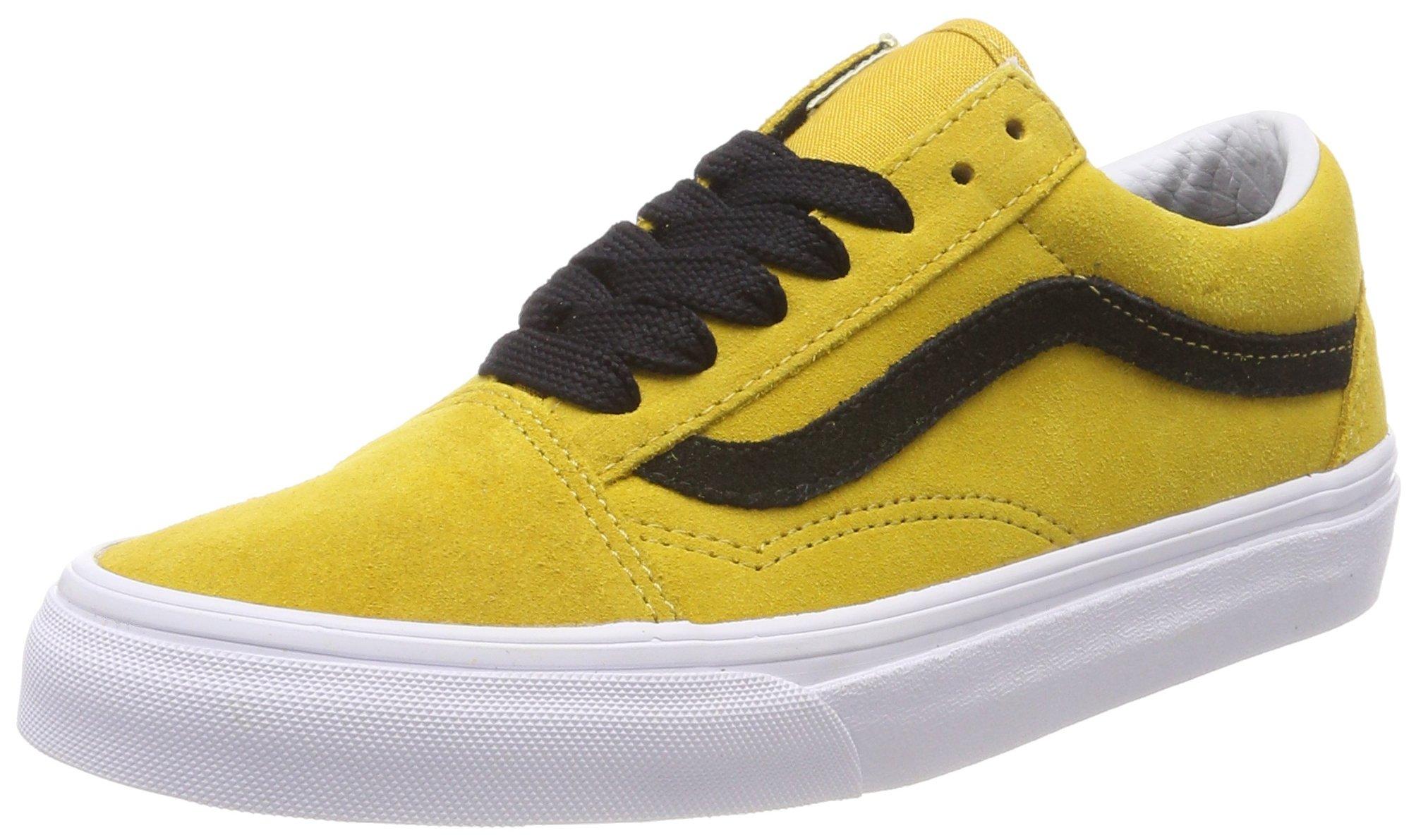 Vans Old Skool Tawney YellowBlack Classic Low Top Sneakers VN0A38G1R0Y Size 4.5
