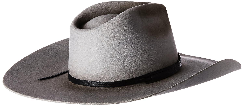 9ccd01d6e43fb5 Bailey Western Men's SHACKELFORD Western Cowboy HAT Silver Sand, 6.75:  Amazon.co.uk: Clothing
