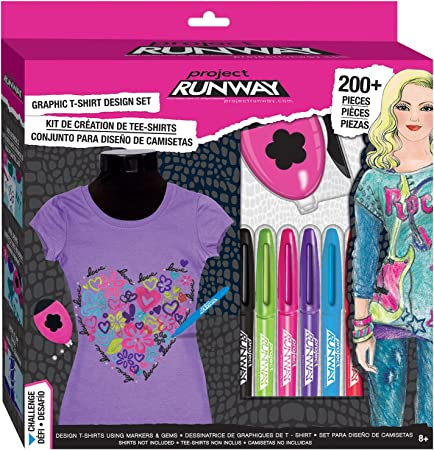 Project Runway Fashion Design Challenge Set 450 Pieces