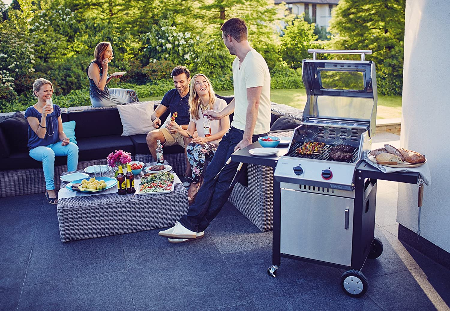 Enders Gasgrill Simple Clean : Thermometer und grill fenster simple clean enders colsman ag gas