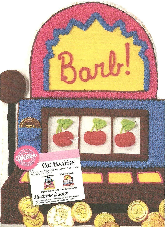 Wilton Cake Pan: Slot Machine (2105-2033, 1998)