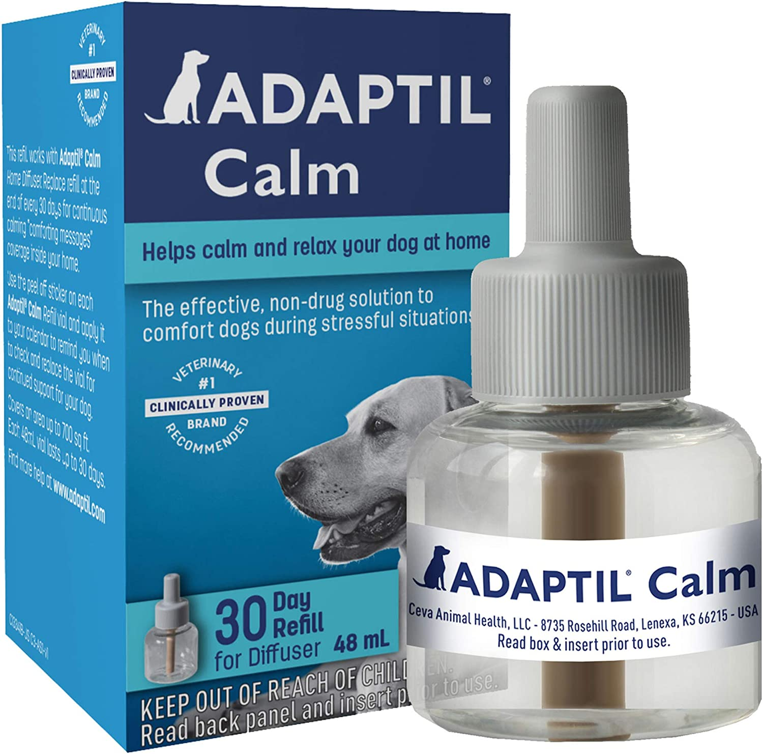 Adaptil 30 Day Diffuser Refill for Dogs