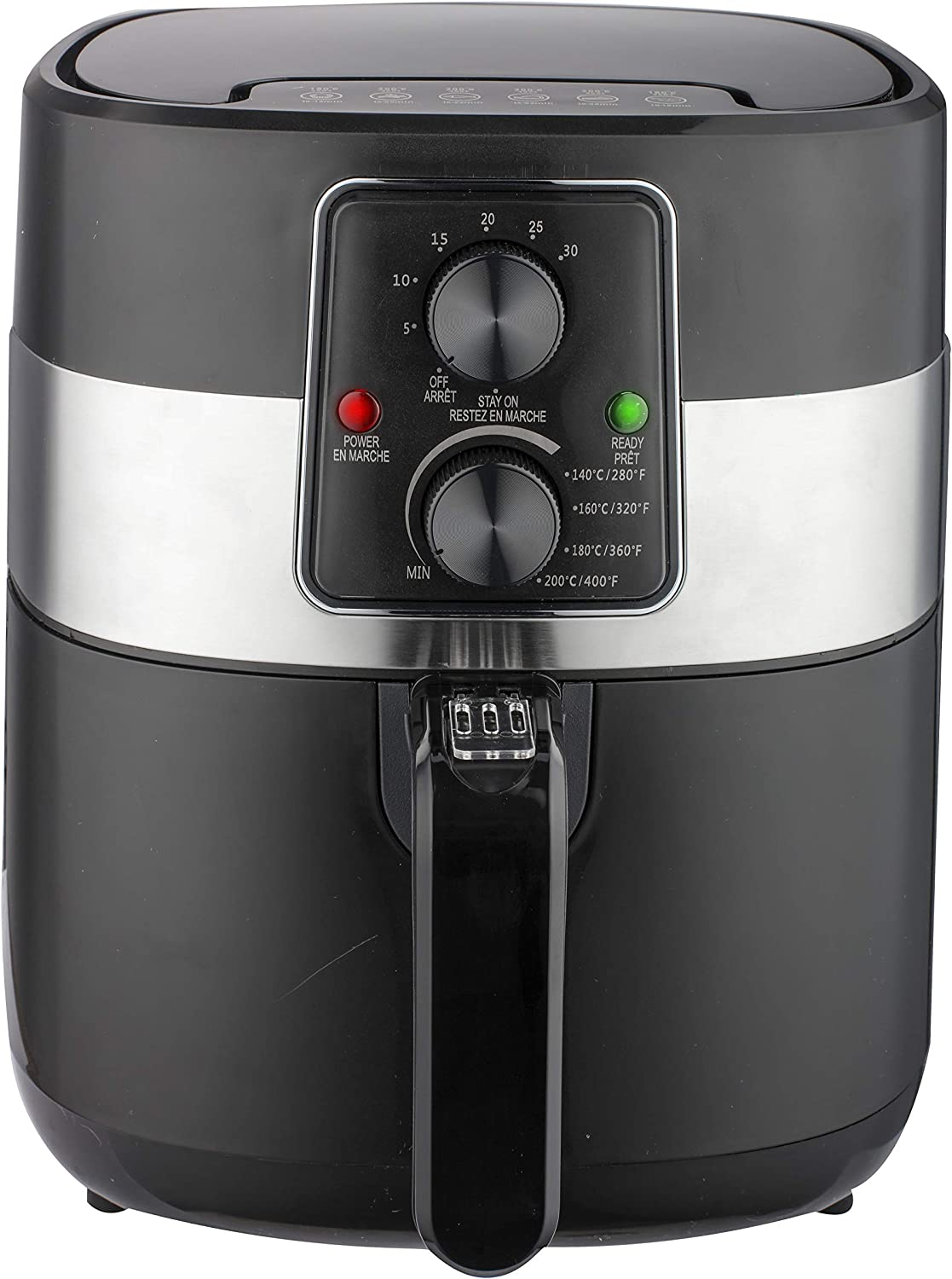 Frigidaire EAF300-BLACK 3.2-qt Digital Air Fryer, Black, 3.2qt