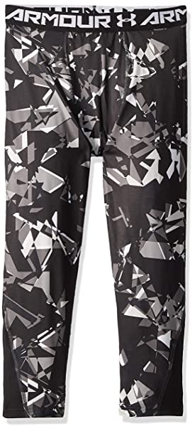 Under Armour 1306063 Boys/' HeatGear Armour ¾ Printed Leggings