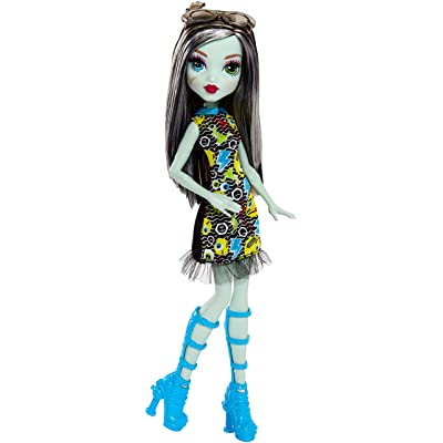 Monster High Frankie Stein Girl Doll - Wearing Emoji-Inspired Monster High Doll Clothes: Toys & Games