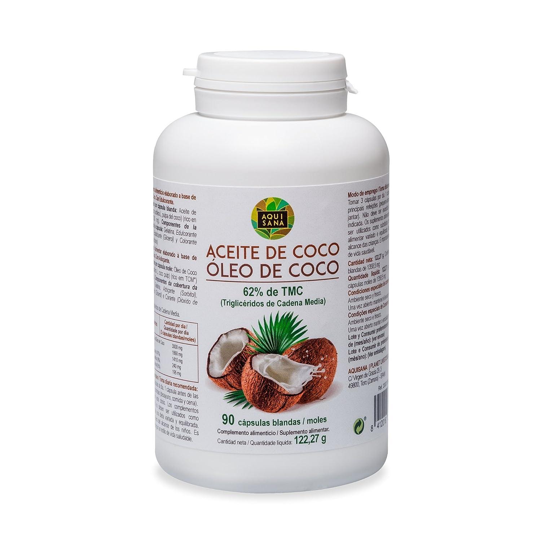 Perlas de aceite de coco – Suplemento nutricional que acelera el metabolismo