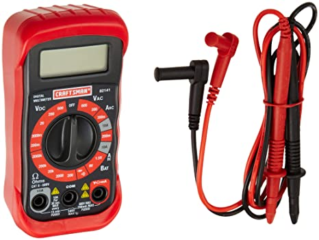 craftsman 34 82141 digital multimeter with 8 functions and 20 ranges rh amazon com craftsman digital multimeter 82141 instructions Craftsman Digital Multimeter 82140 Manual