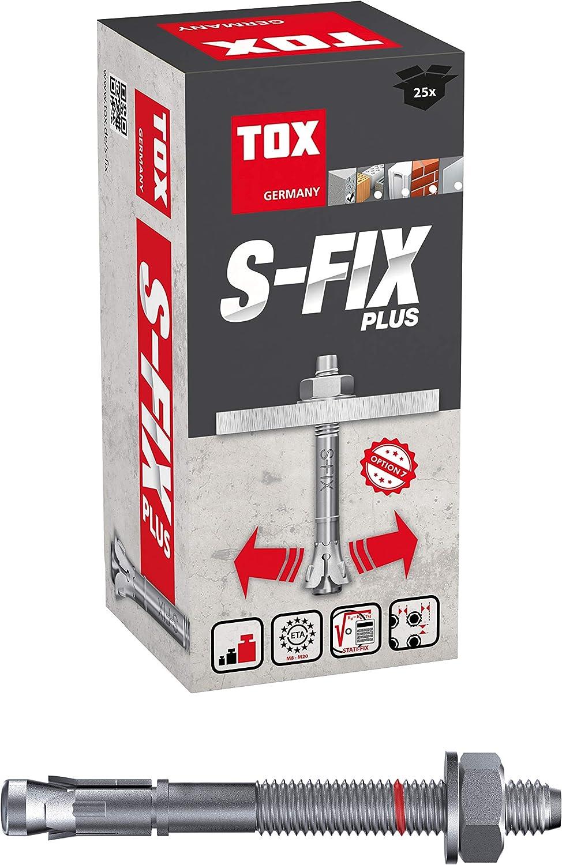 TOX bolt anchor S-Fix Plus M6 x 70 x 12 mm 100 pieces 04210102