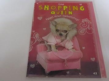 Depesche Geburtstagskarte Eine Shopping Queen Feiert Ihren