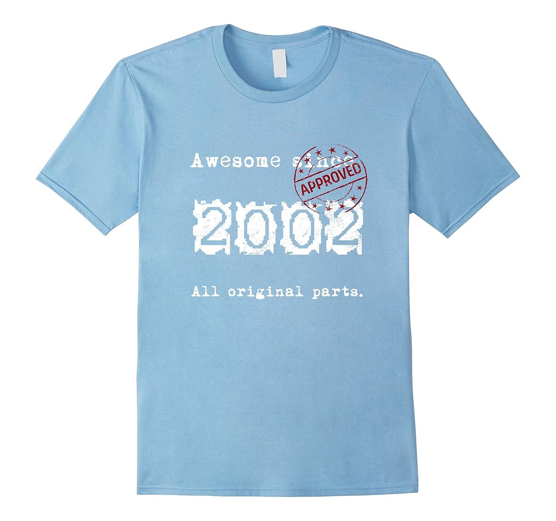 Womens Born 2002 Birthday T Shirt-Awarplus