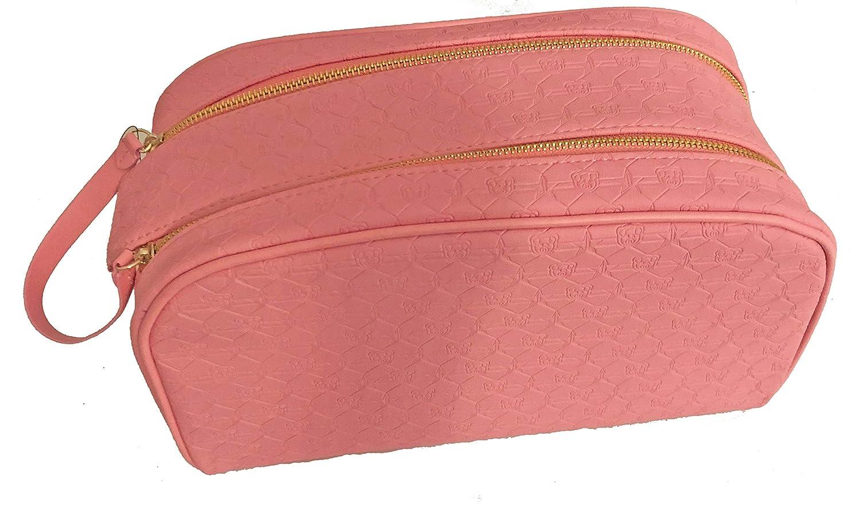 Jeffree Star x Shane Dawson Double Zipper Pink Makeup Bag