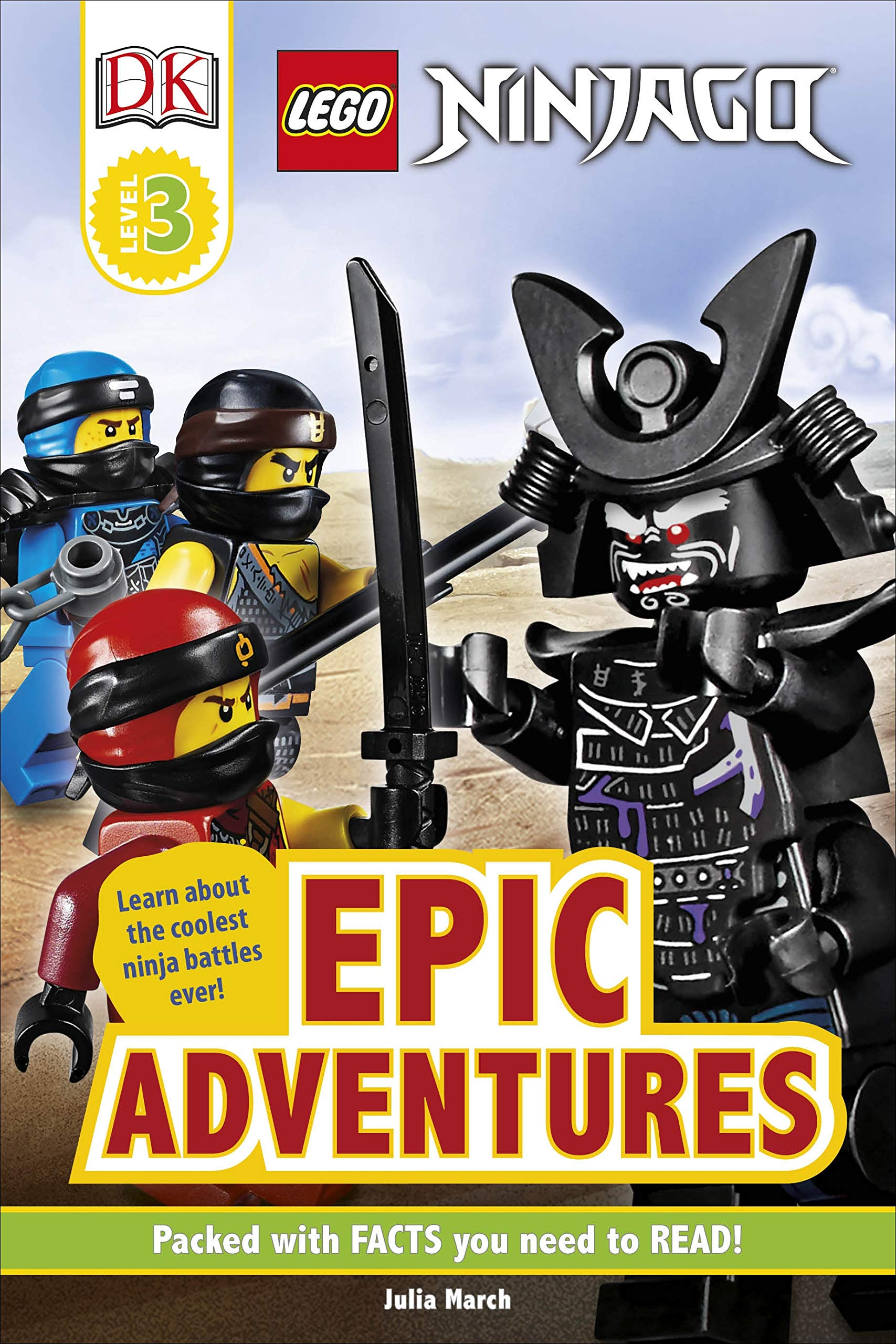 Amazon.com: LEGO NINJAGO Epic Adventures (9780241375976 ...