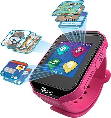 Kurio Watch Reloj Inteligente Negro, Rosa LCD 3,91 cm (1.54 ...