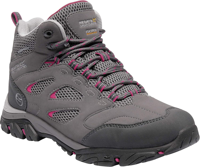 Regatta Womens Holcombe Iep Mid High Rise Hiking Boots