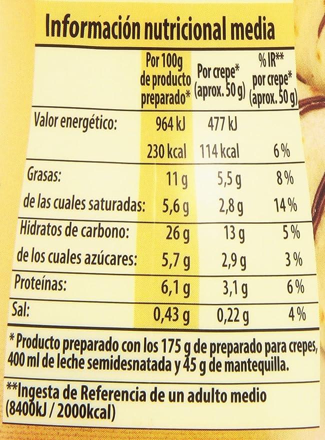Dr. Oetker - Preparado Para Crepes Dulce O Salado - 175 gr: Amazon.es: Amazon Pantry