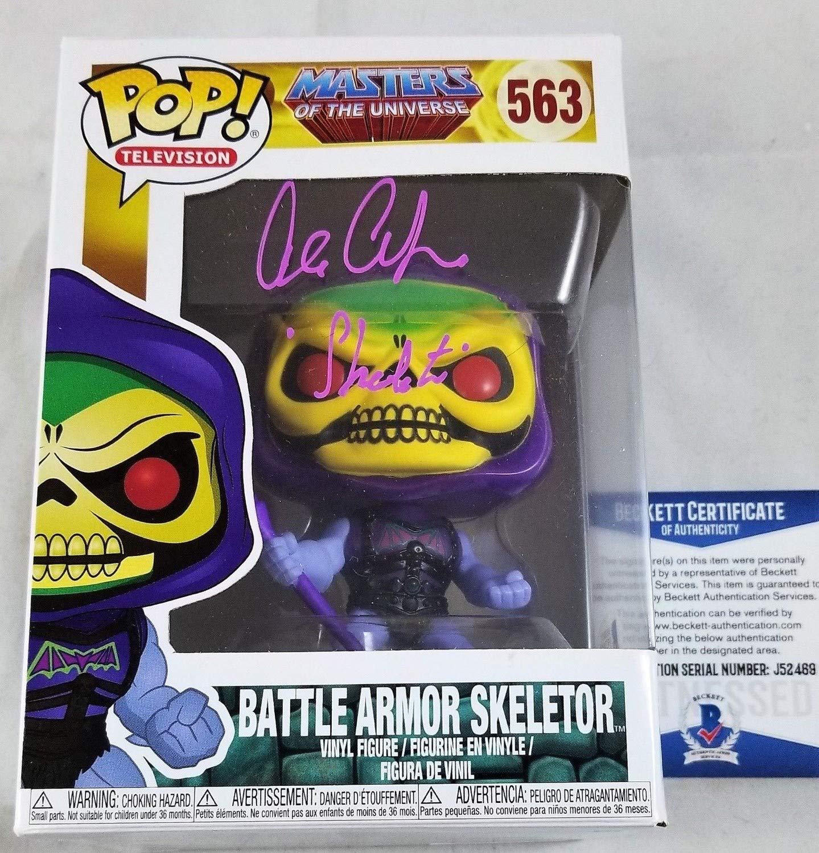 Alan Oppenheimer Autographed Signed Memorabilia Skeletor Funko Pop Motu Autograph Beckett Bas Coa 469