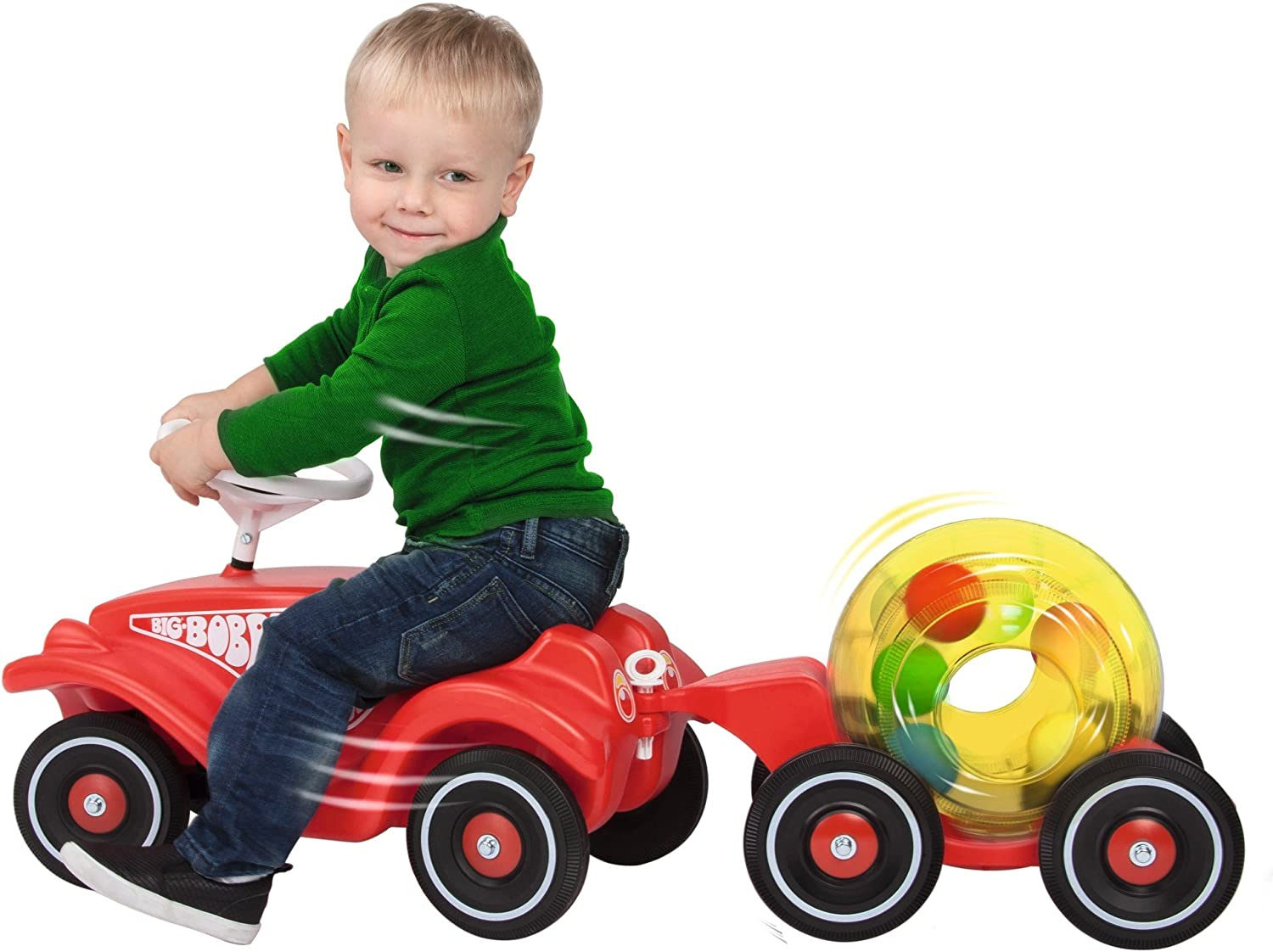 BIG 800056262 Mix Trailer Toy for Bobby-Car