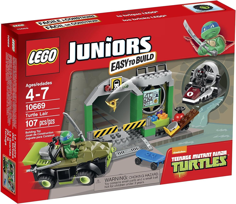 LEGO Juniors Turtle Lair 10669 Building Set