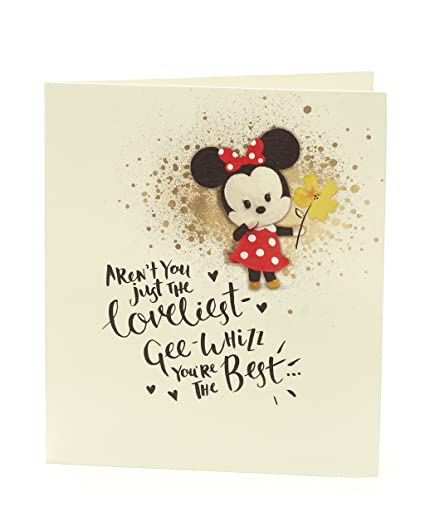 Amazon Disney Minnie Mouse Birthday Card Office Products