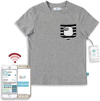 BzT - Camiseta de algodón con Sensor de Dispositivo de ...