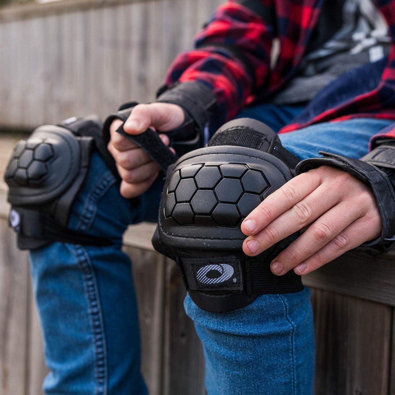 Osprey Kinder Skate-Schutzset BMX 6 PCS Knie- und Handgelenkschoner Ellenbogen