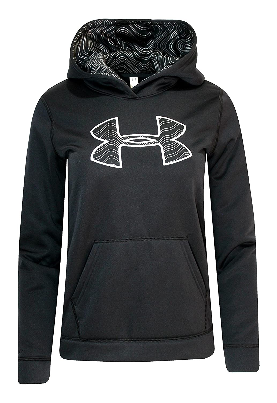 Under Armour Youth Girls Storm Big Logo Hoodie Athletic Hoody