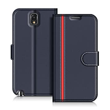 COODIO Funda Samsung Galaxy Note 3 con Tapa, Funda Movil Samsung Note 3, Funda Libro Galaxy Note 3 Carcasa Magnético Funda para Samsung Galaxy Note 3, ...