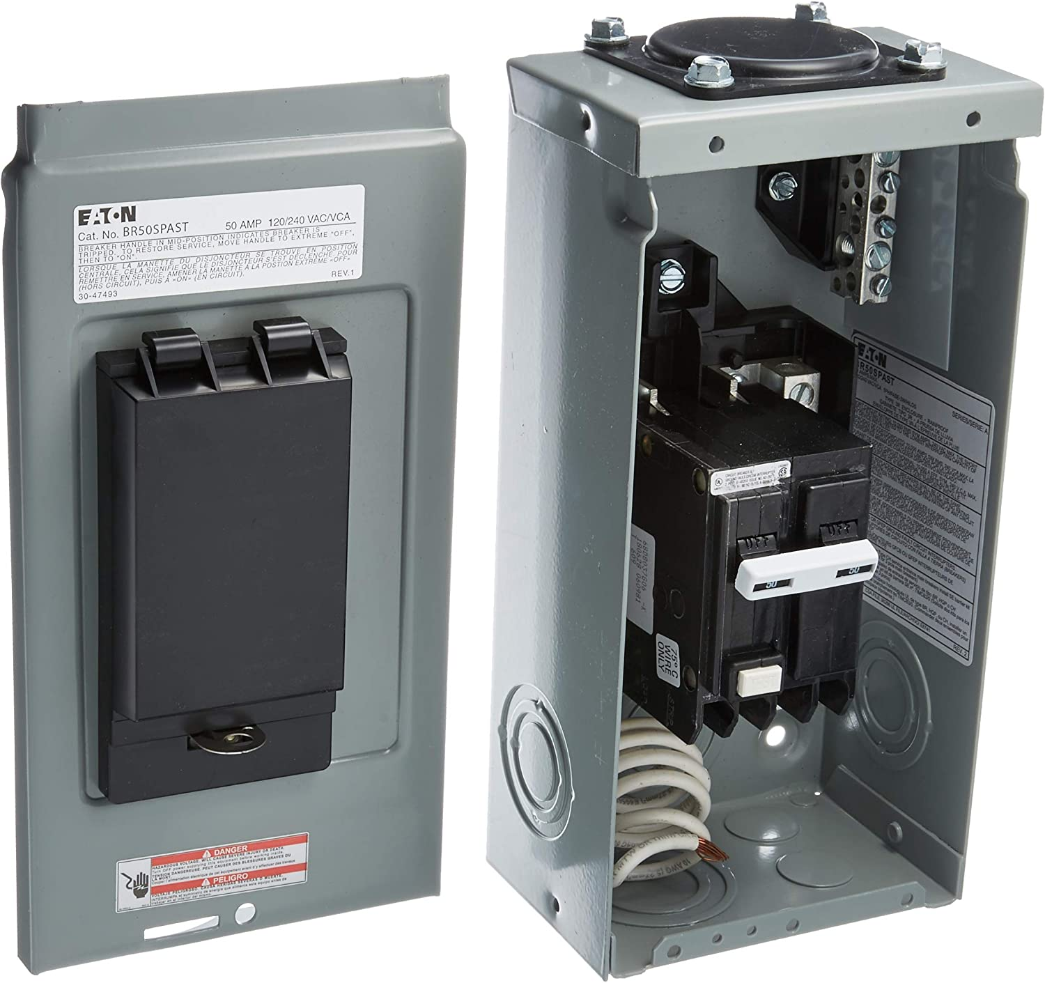 Spa Gfci 50 Amp Receptacle Wiring