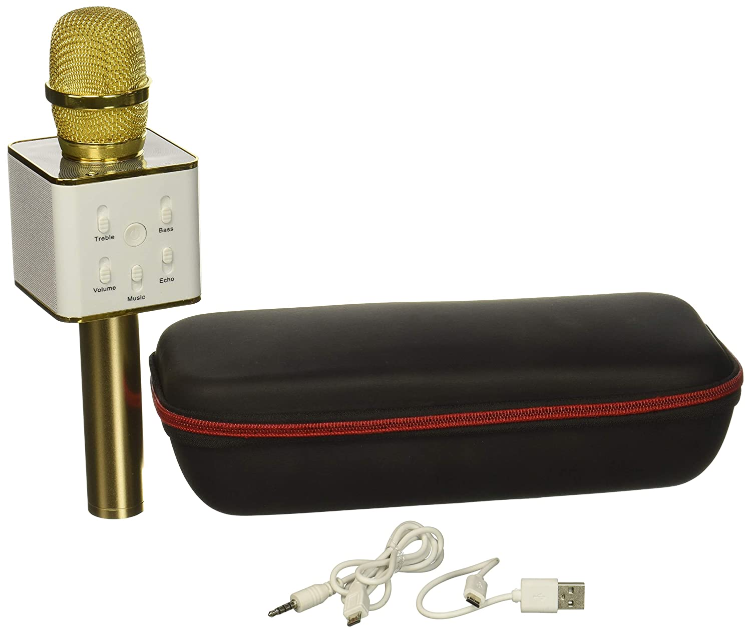 Q7 Karaoke Case, Gold Soundmix Q7-Gold