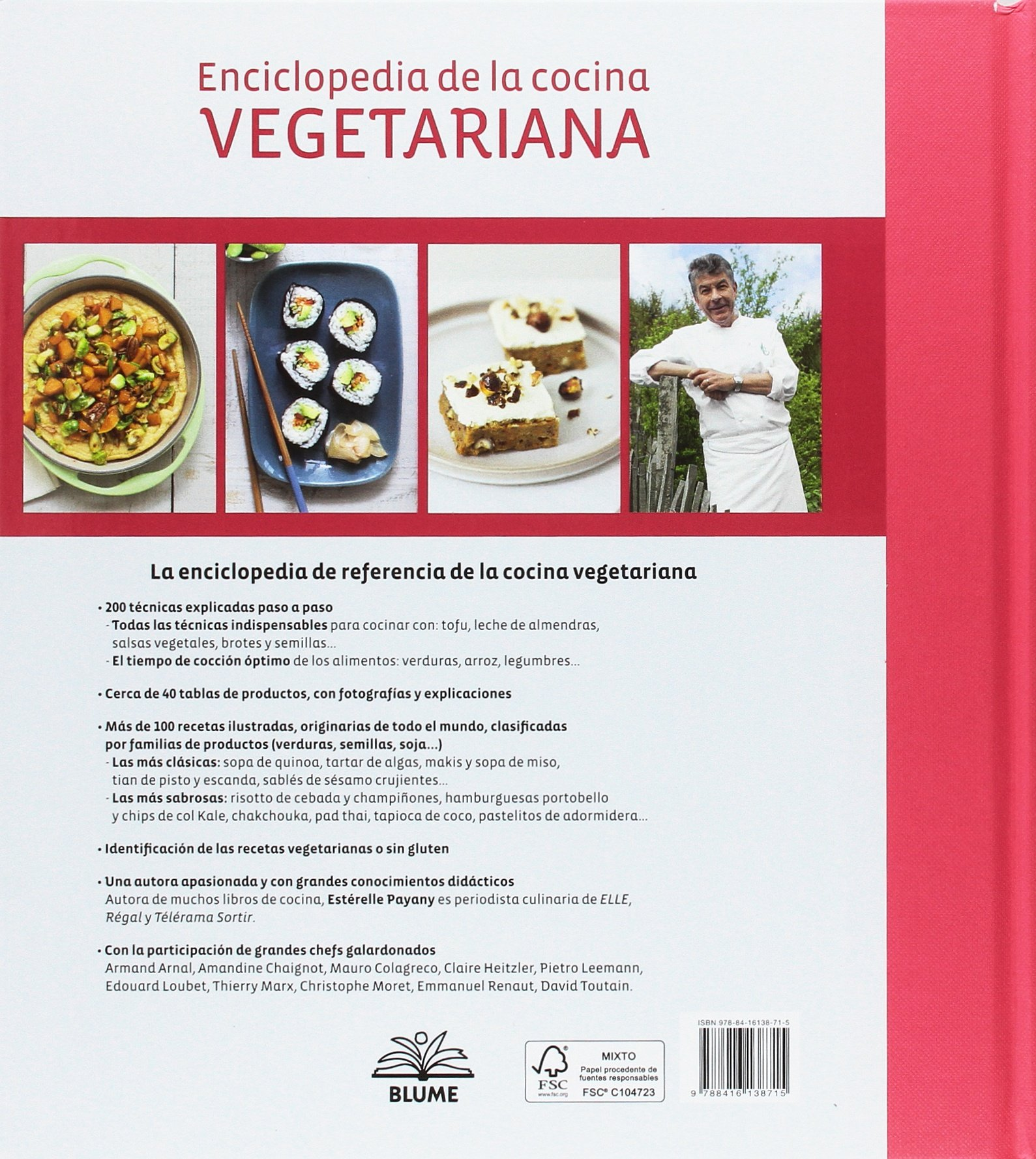 Enciclopedia de la cocina vegetariana: ESTERELLE PAYANY: 9788416138715: Amazon.com: Books