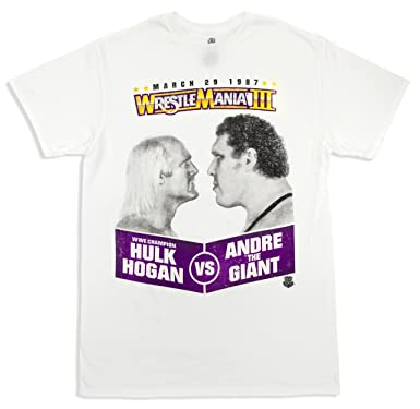 hulk hogan andre the giant t shirt