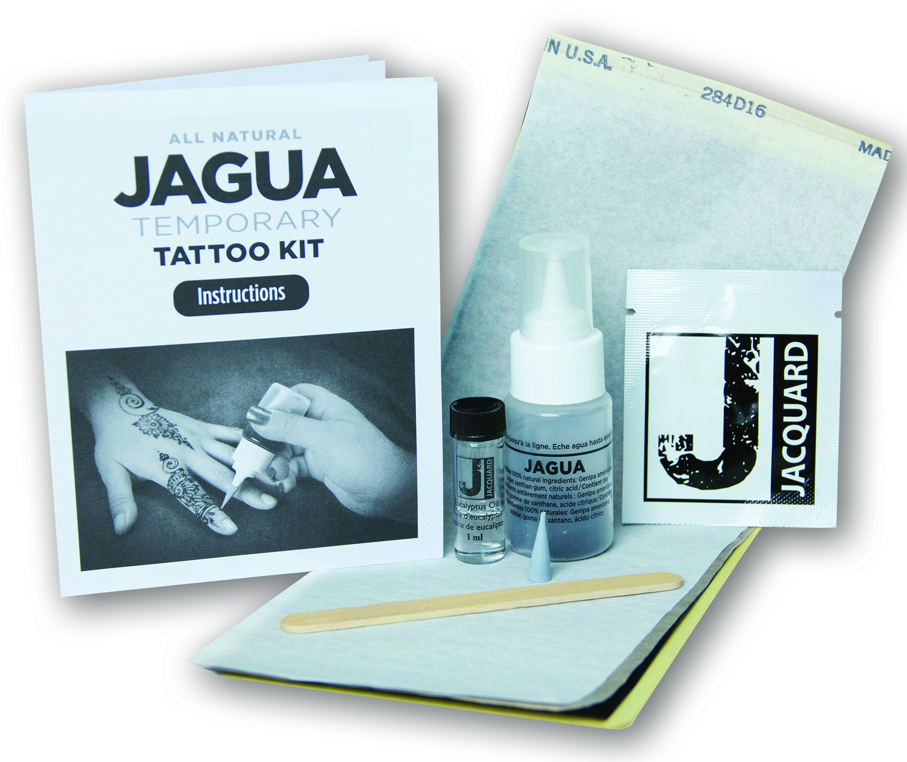 Jacquard Jagua Temporary with Transfer Paper Tattoo Kit (8 Piece) by Jacquard (Image #4)
