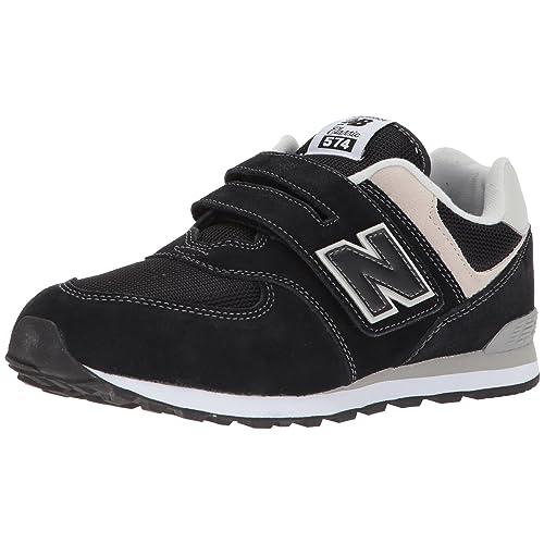 New Balance 574v2 Core Velcro Zapatillas Unisex Niños Negro Black Grey Black Grey 21 EU
