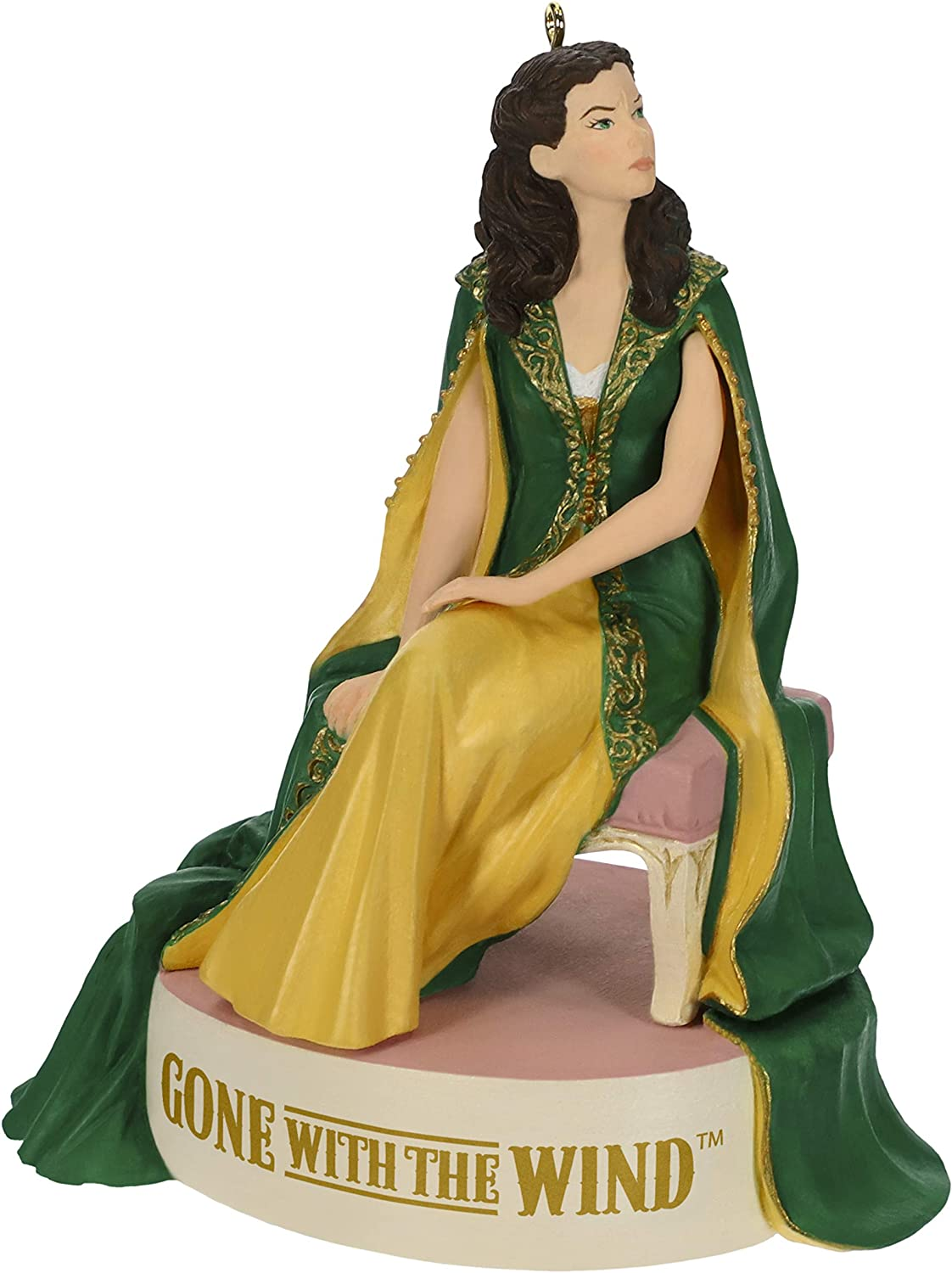 Hallmark 2018 Scarlett/'s Christmas Dress Gone With the Wind Ornament