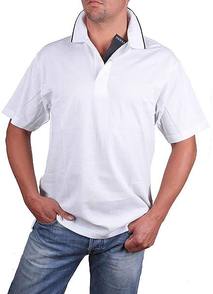 Ferre Polo Hombre Polo Manga Corta Blanca - blanco, L: Amazon.es ...
