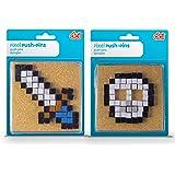 DCI Pixel Push Pins, Assorted Sword or Skull
