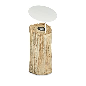 Relaxdays Bodenlampe Holz Grosse L Hbt Ca 71 X 30 X 30 Cm