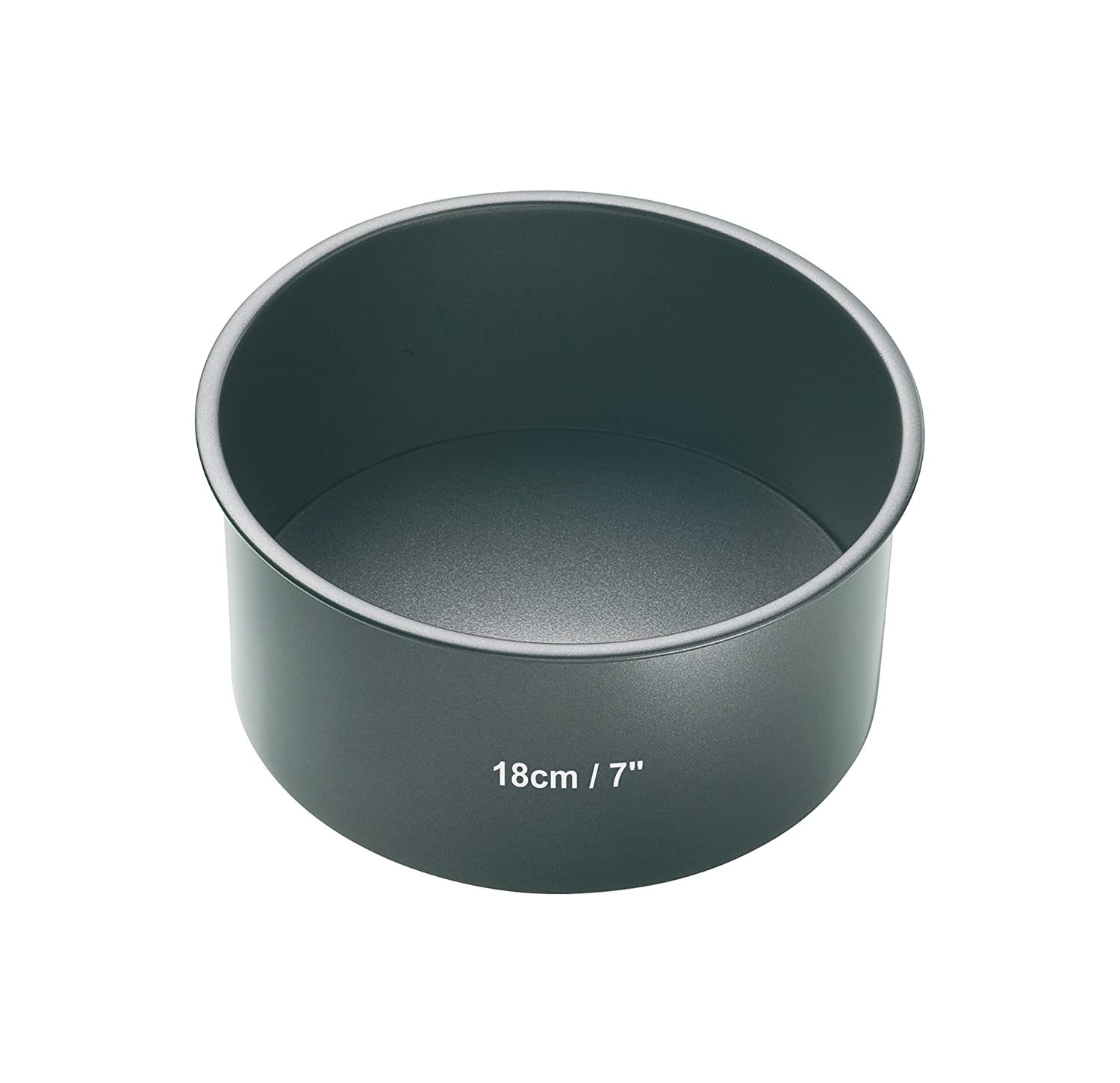 Amazon.com: Masterclass Non-stick Deep Round Cake Tin With Loose Base, 23cm (9