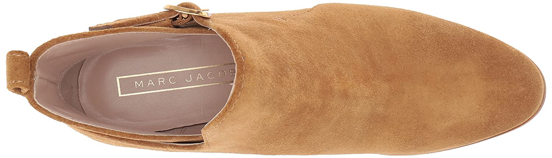 Marc Jacobs Women's Ginger Interlock Ankle Boot B07321DTSZ 38.5 M EU (8.5 US)|Camel