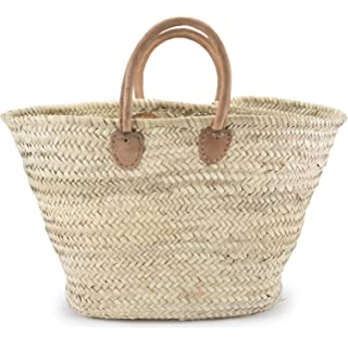 Straw Market Bag. #frenchmarket #woventote #handbags #frenchcountry #markettote