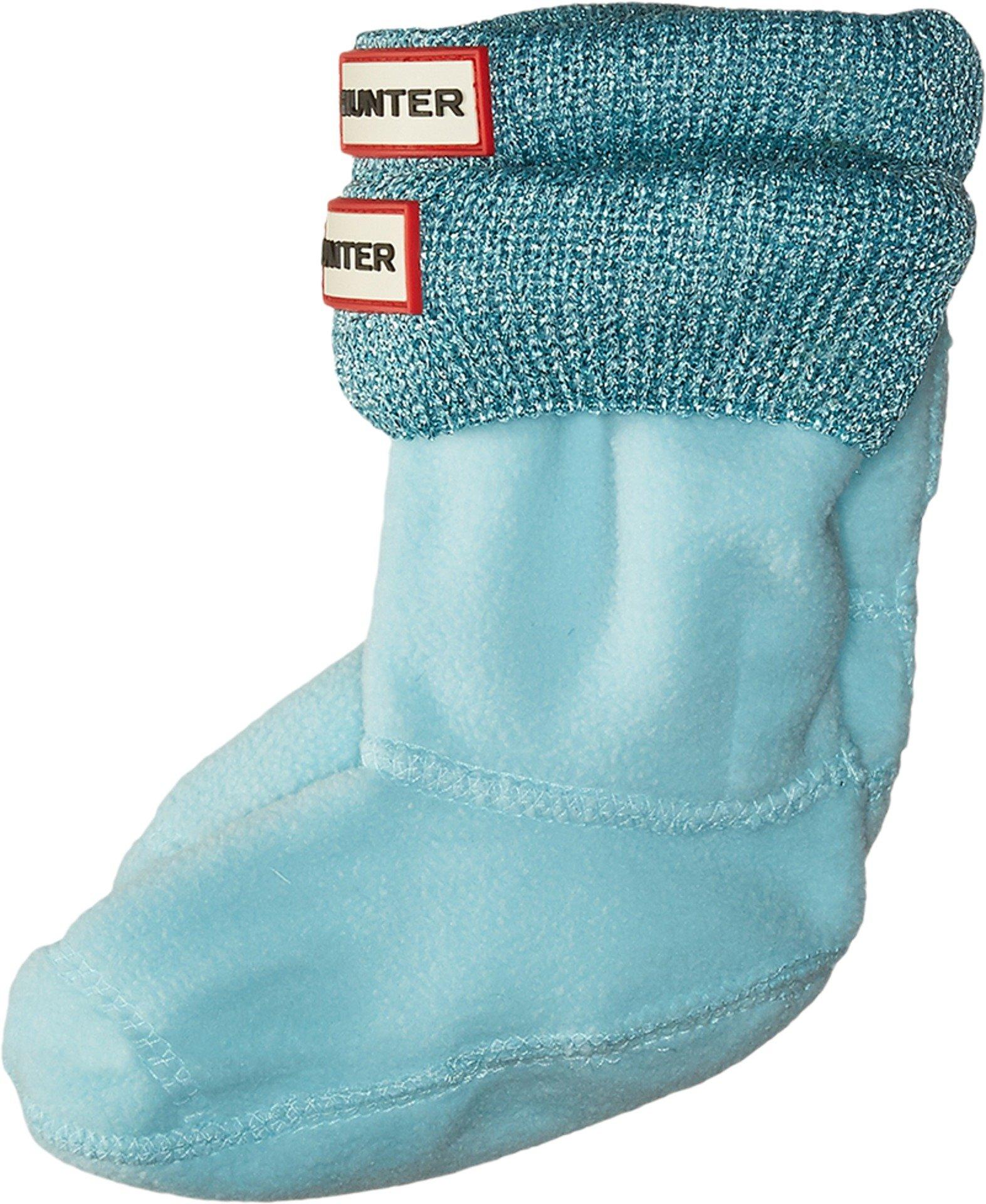 Hunter Kids Baby Girl's Glitter Boot Sock (Toddler/Little Kid/Big Kid) Pale Mint XS (Shoe 5-7 Toddler)