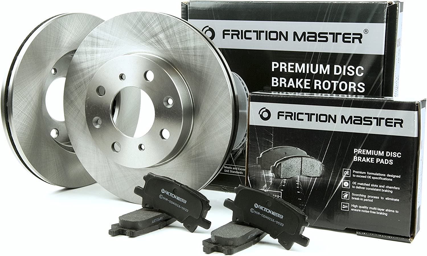 1994 1995 1996 1997 Fit Jeep Wrangler Rotors Ceramic Pads F OE Replacement