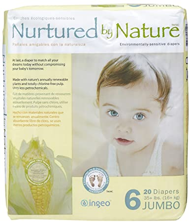 Nurtured by Nature Diapers - Size 6 - 20 ct
