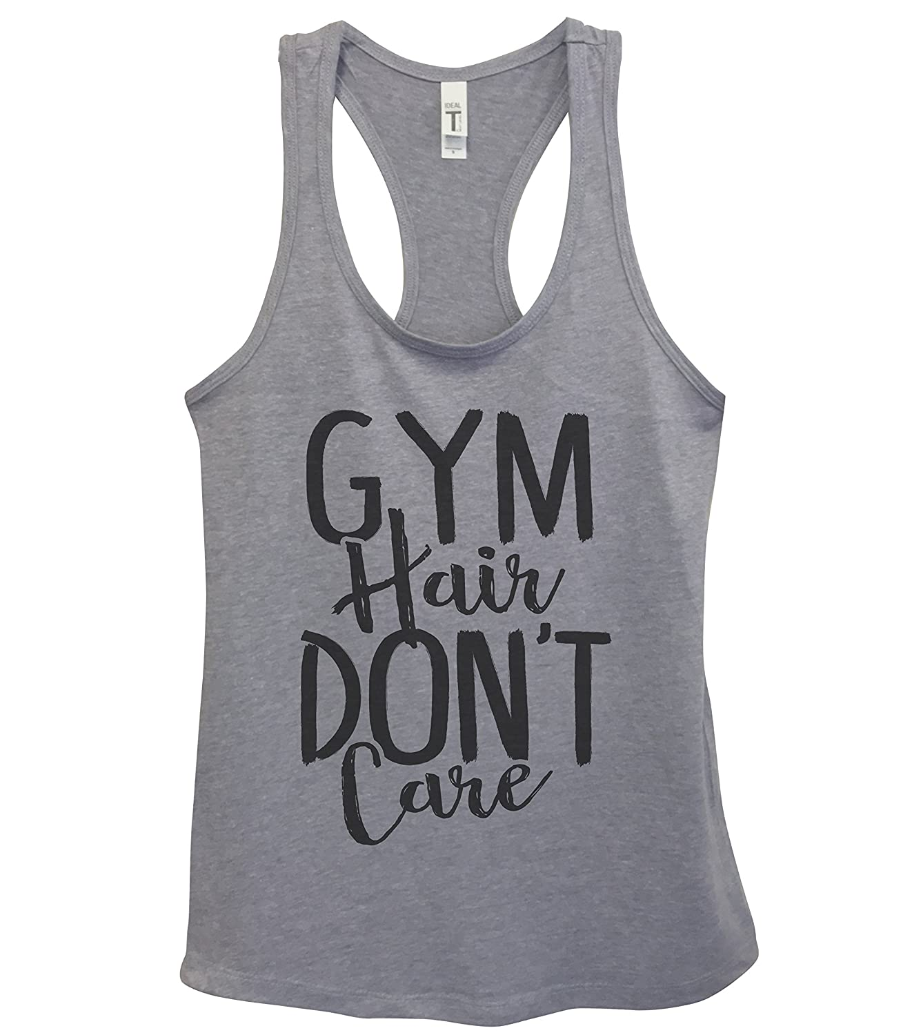 Yoga Royaltee Tank Tops Funny Womens Work Out Tanks Gym Hair Dont Care
