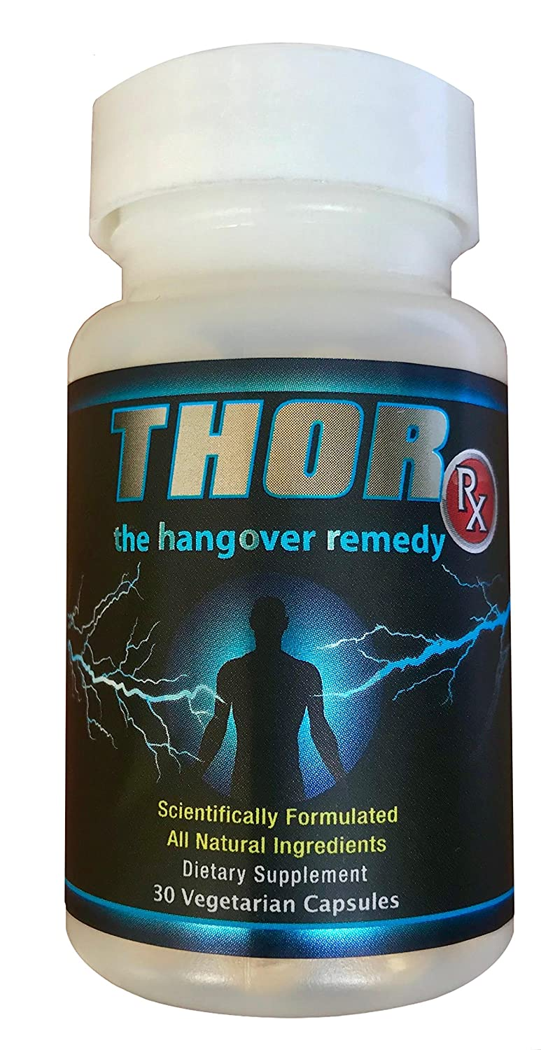 Amazon com: Thor Rx for Hangovers - Leading Remedy, Recovery and