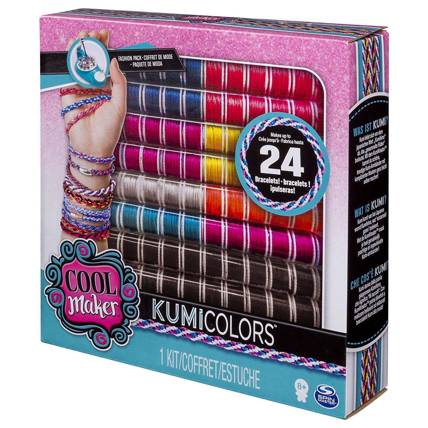 Amazon.com: Cool Maker - KumiColors Fantasy & Neons Fashion ...