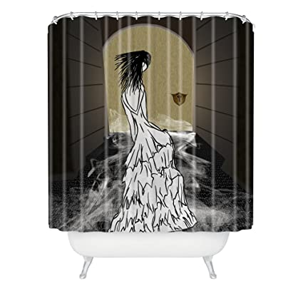 Amazon Deny Designs Amy Smith Dress In Tunnel Shower Curtain