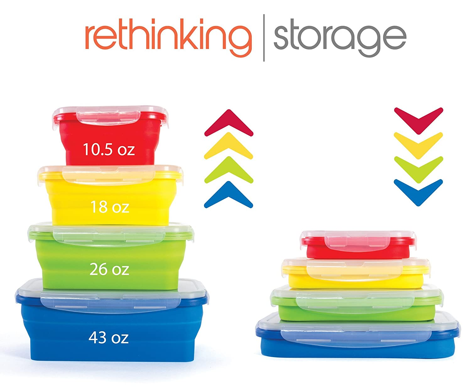 Thin bins collapsible containers amazon lightning deal afternoon